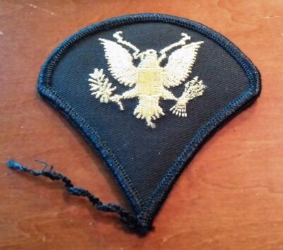 "Great 3"" Replacement Military Patch Green w/Embroidered Eagle Army"
