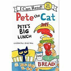 Pete the Cat: Pete's Big Lunch (My First I Can Read), Dean, James, Good Book