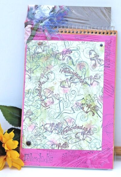 Handmade Spanish Notepad
