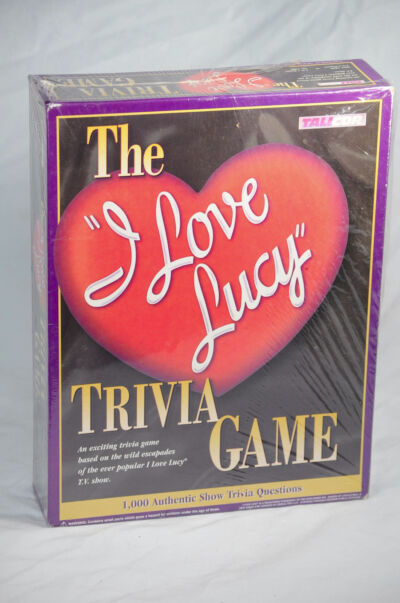 I Love Lucy Trivia game..1998 by Talicor NEW IN PACKAGE !