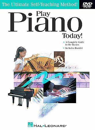 Play Piano Today DVD by Robbie Gennet