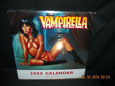 Vampirella (Horror)- 2000 Calendar (Sexy) Unused!