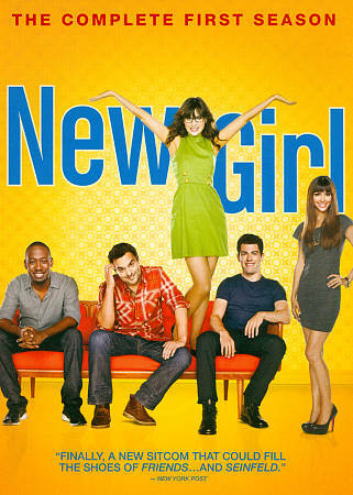 New Girl: Season 1 by Zooey Deschanel, Max Greenfield, Jake Johnson, Hannah Sim