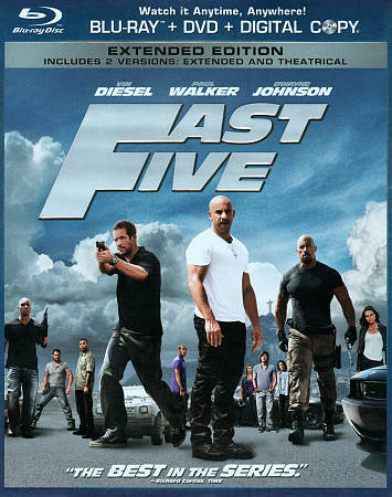 Fast Five Extended Edition DVD/Blu-Ray