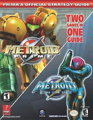 Metroid Prime (with Metroid Fusion) (Prima's Official Strategy Guide), David Cas