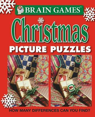 Brain Games: Christmas Picture Puzzles, Publications International Staff, Good B