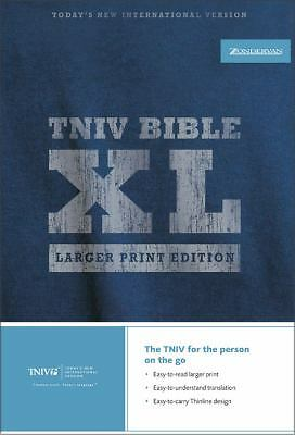 TNIV Thinline Bible XL: Larger Print Edition (Bible Tniv), Zondervan, Good Book