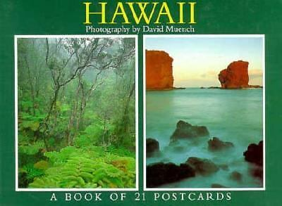 Hawaii Postcard Book, Muench, David, Good Book