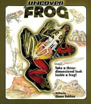 Uncover a Frog (Uncover Books), Aimee Bakken, Acceptable Book