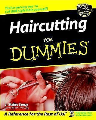 Haircutting for Dummies, J. Elaine Spear, Good Book