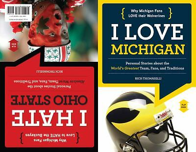 I Love Michigan/I Hate Ohio State (I Love/I Hate), Thomaselli, Rich, Acceptable