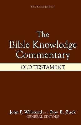 The Bible Knowledge Commentary (Old Testament:), , Acceptable Book