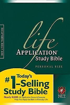 Life Application Study Bible NLT, Personal Size by