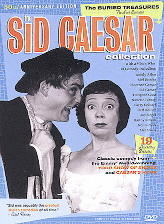 The Sid Caesar Collection - Buried Treasures: Box Set (DVD, 2004, 3-Disc Set)