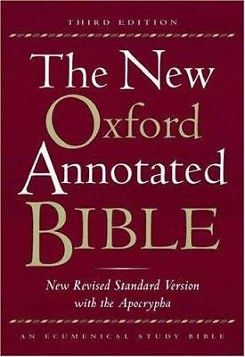 The New Oxford Annotated Bible, New Revised Standard Version with the Apocrypha,