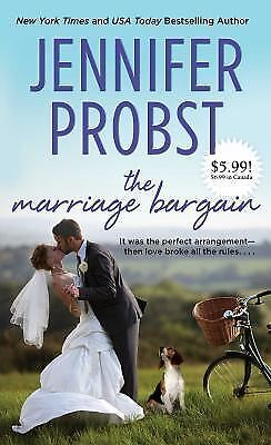 The Marriage Bargain (Marriage to a Billionaire) by Probst, Jennifer