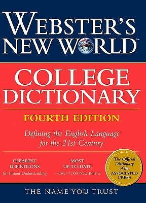 Webster's New World College Dictionary, , Good Book