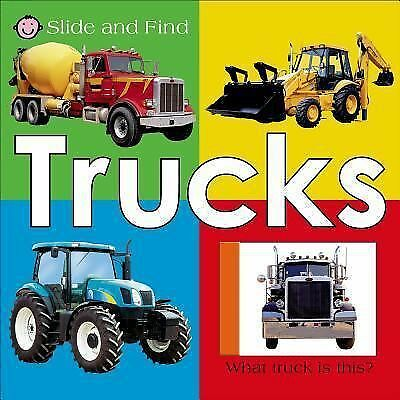Slide and Find - Trucks, Priddy, Roger, Good Book