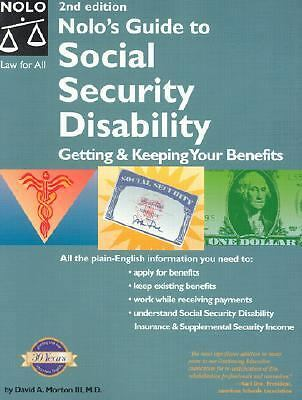 Nolo's Guide to Social Security Disability: Getting & Keeping Your Benefits by