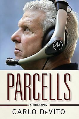 Bill Parcells Biography by Carlo DeVito (2011 NFL HOF New York Giants / NY Jets