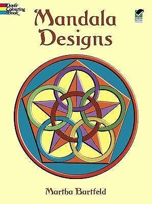 Mandala Designs (Dover Design Coloring Books), Martha Bartfeld, Acceptable Book