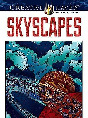 Creative Haven SkyScapes Coloring Book (Creative Haven Coloring Books) by Mazur