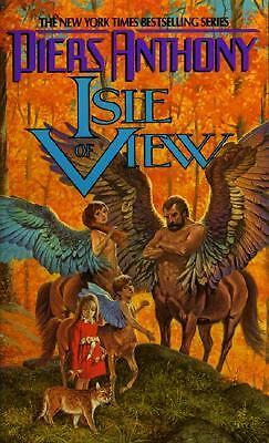 Isle View by Piers Anthony (Xanth Series, 1990 First Printing, Paperback)