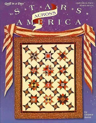 Stars Across America (Quilter's Block Party, No. 7) by Burns, Eleanor