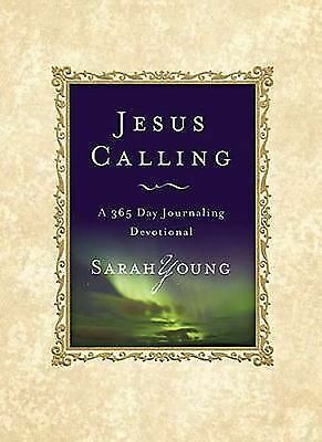 Jesus Calling: A 365 Day Journaling Devotional, Sarah Young, Acceptable Book