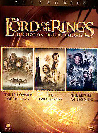 The Lord of the Rings: The Motion Picture Trilogy (DVD, 2004, 6-Disc Set, Pan...