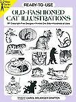 Ready-to-Use Old-Fashioned Cat Illustrations Dover Clip Art Ready-to-Use)