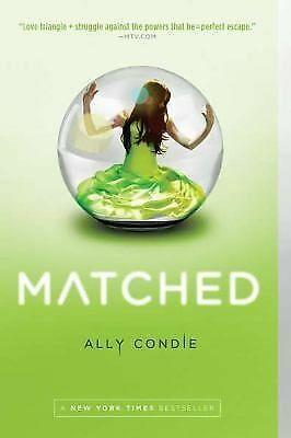 Matched (Matched (Paperback - Trilogy)), Ally Condie, Good Book