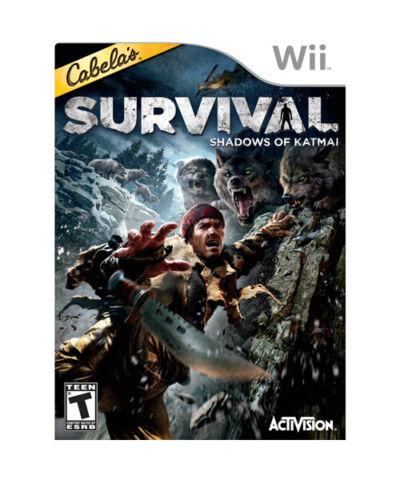 Cabelas Survival: Shadows of Katmai - Nintendo Wii, Good Nintendo Wii, nintendo_