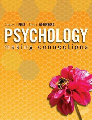 Psychology: Making Connections, Rosenberg, Erika, Feist, Gregory, Very Good Book