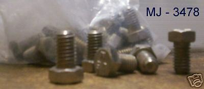 Lot of 18 - Stainless Steel or  (?) Bolts