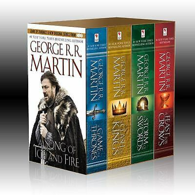 Boxed Set: Game of Thrones-Feast for Crows-Storm of Swords-Clash of Kings (PB)