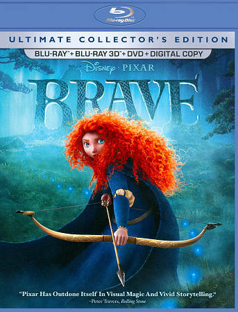 Brave Five-Disc Ultimate Collector's Edition: Blu-ray 3D / Blu-ray / DVD + Digi