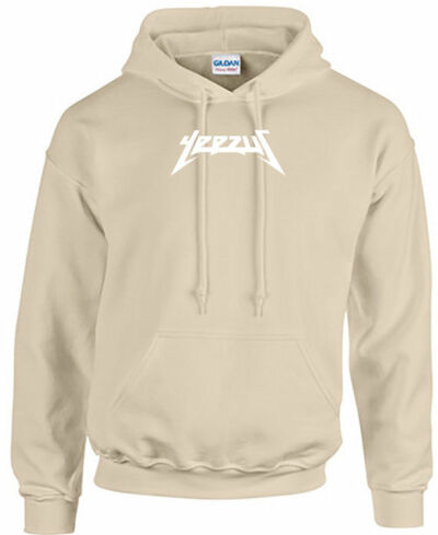 Mr. Pablo Kanye West Yeezus Tour Hoodie Uni-Sex Sand Beige Tan