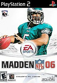 MADDEN 06 - Ps2 Playstation 2, TESTED & COMPLETE