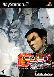 TEKKEN TAG TOURNAMENT - Ps2 Playstation 2, TESTED & COMPLETE