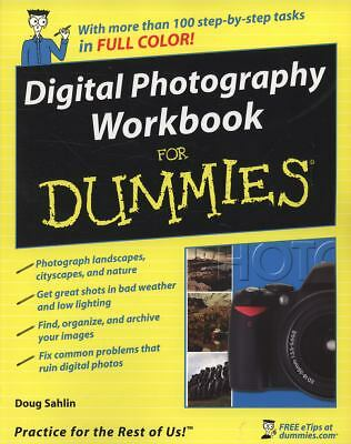 Digital Photography Workbook For Dummies, Sahlin, Doug, Good Book
