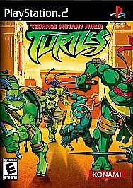 Teenage Mutant Ninja Turtles ( for PS2 ) by
