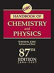CRC Handbook of Chemistry and Physics, 87th Edition (Crc Handbook of Chemistry a