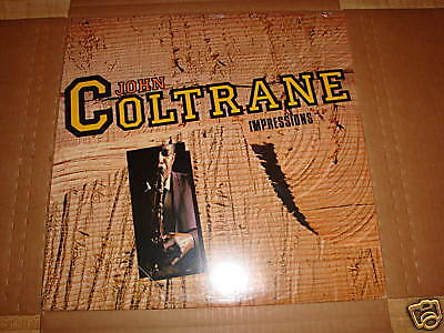 JOHN COLTRANE IMPRESSIONS LP RARE JAZZ FACTORY SEALED NEW ITALY PRESSING