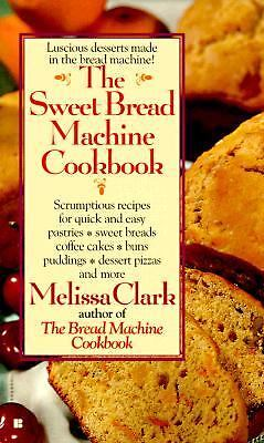 The Sweet Bread Machine Cookbook, Melissa Clark, Good Book