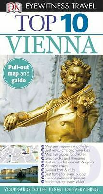 Top 10 Vienna (Eyewitness Top 10 Travel Guides), DK Publishing, Good Condition,