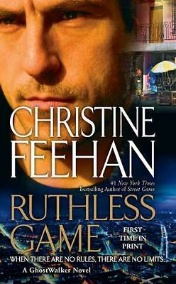 Ruthless Game (Game/Ghostwalker), Christine Feehan, Good Condition, Book