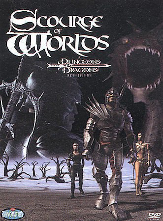 Scourge of Worlds - A Dungeons & Dragons Adventure by Dan Hay, Lester Rosenthal