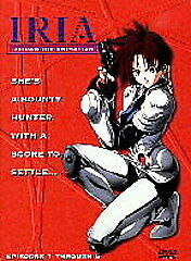 Iria - Zeiram the Animation, Episodes 1-6, Good DVD, Aya Hisakawa, Katsue Miwa,
