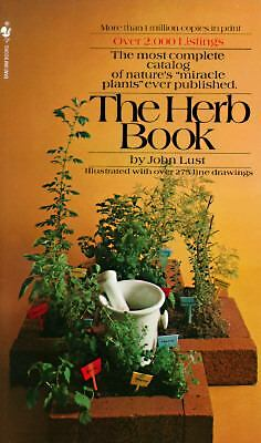 The Herb Book, John Lust, Good Condition, Book